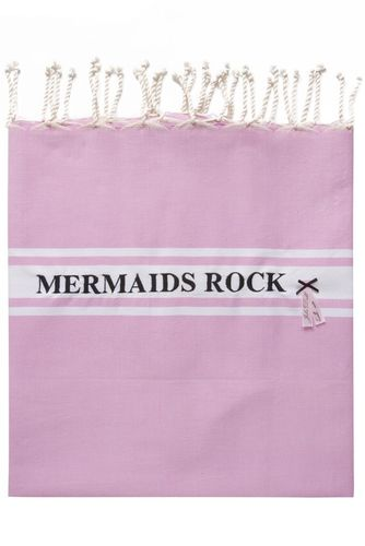 MERMAIDS ROCK TOWEL ROSE